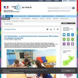 Les Oulimpiades, un projet d'écriture très innovant pour 200 écoliers et collégiens toulonnais