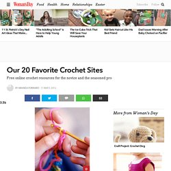 Our 20 Favorite Crochet Sites
