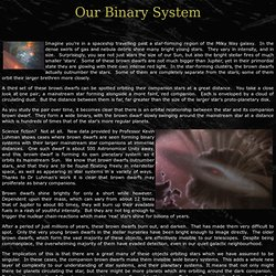 our binary solar system revealed