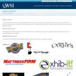 Clients of WSI Web Enhancers- An Internet Marketing Company