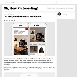 Our crazy-fun new visual search tool