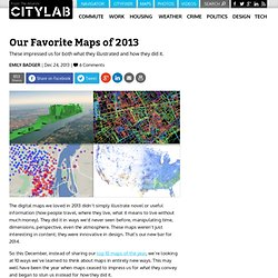 Our Favorite Maps of 2013