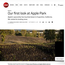 Our first look at Apple Park - CNET