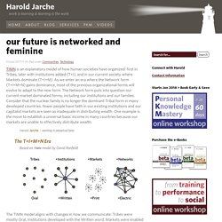 our future is networked and feminine