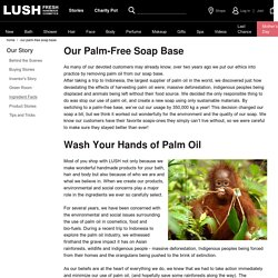 Our Palm-Free Soap Base