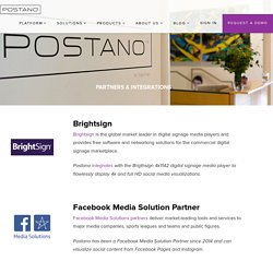 Our Partners - Postano