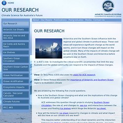 Antarctic Climate & Ecosystems