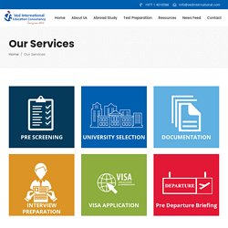Our Services - Ved International