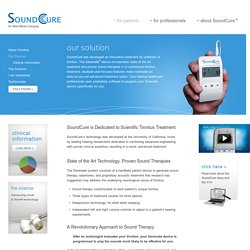 Our Solution - SoundCure