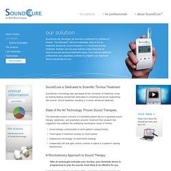Our Solution - SoundCure