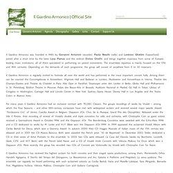 Our Story | Il Giardino Armonico