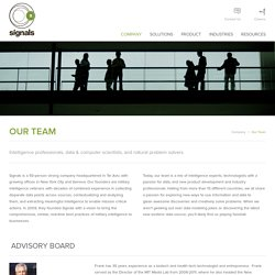 Our Team - Signals Group