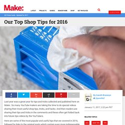 Our Top Shop Tips for 2016
