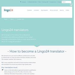 Our Translators