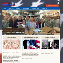 Support Our Troops | Our Troops Online | Send Items to U.S. Troops Stationed Overseas | Help With Postage Costs Always Needed | {title}