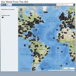 Mapa de Avistamiento desde ISS