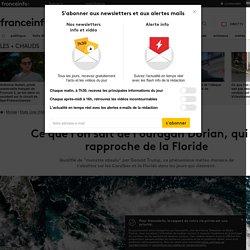 Ce que l'on sait de l'ouragan Dorian, qui se rapproche de la Floride