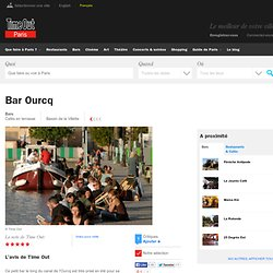 Bar Ourcq | 68 quai de Loire 19e | Bars