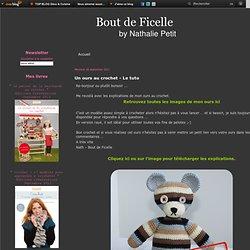 Un ours au crochet - Le tuto - Nath - Bout de Ficelle