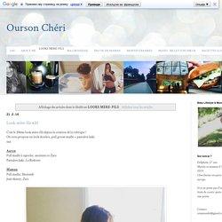 Ourson Chéri: LOOKS MERE-FILS