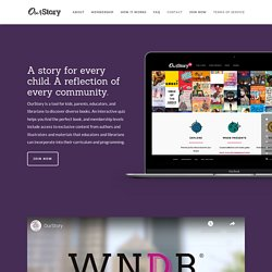 A curated book-finding app for librarians, teachers, parents and kids, from WNDB