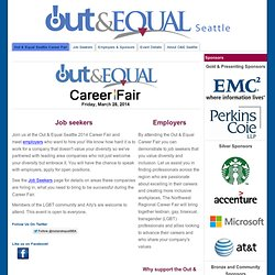Out & Equal Seattle Career Fair