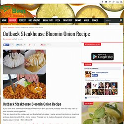 Outback Steakhouse Bloomin Onion Recipe