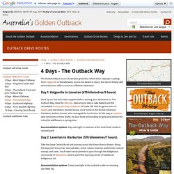 outback way - Australias Golden Outback