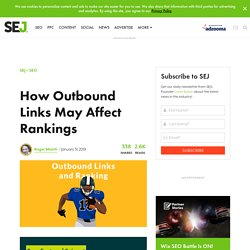 How Outbound Links May Affect Rankings