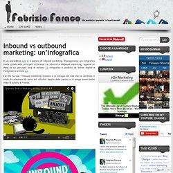 Inbound vs outbound marketing: un'infografica