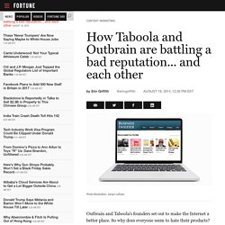 Taboola and Outbrain: Combating a bad reputation (and each other)