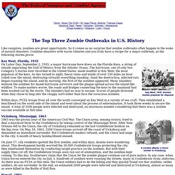 The Top Three Zombie Outbreaks in American History | American Flag