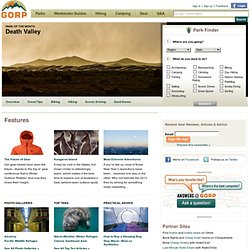 GORP -- Great Outdoor Recreation Pages