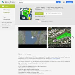 Locus Free - Aplicativos para Android no Google Play
