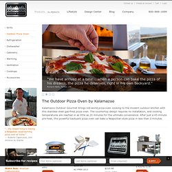 Artisan Fire Pizza Oven, Outdoor Pizza Oven by Kalamazoo Outdoor Gourmet