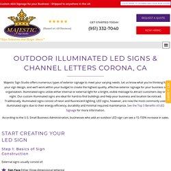 Get Best Value for Custom LED Sign