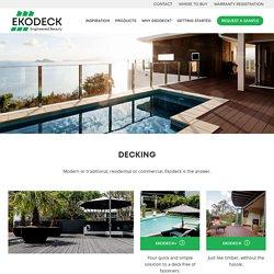 Best Outdoor, Pool & Garden Composite Decking Material