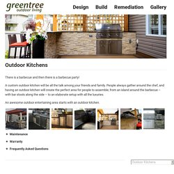 Outdoor Kitchen Edmonton