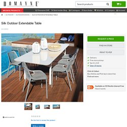 Silk Outdoor Extendable Table