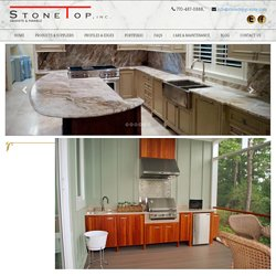 How to Tile Outdoor Kitchen Countertops with Natural Stones
