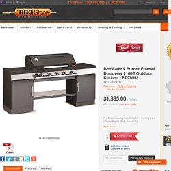 outdoor kitchen - Discovery 1100E Outdoor Kitchen 5 Burner - 79552