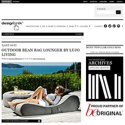 Get Out! Outdoor Bean Bag Lounger by Lujo Living