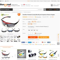 Outdoor Sports Cycling Polarized Sunglasses Goggles UV400 - US$12.99 - Banggood Mobile