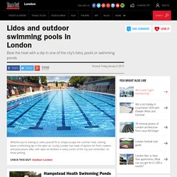 Lidos and outdoor swimming in London - Around Town