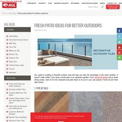 Best Designer Outdoor Tiles