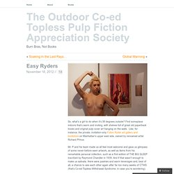 Easy Ryders « The Outdoor Co-ed Topless Pulp Fiction Appreciation Society