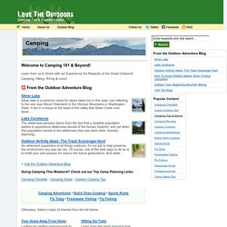 Love The Outdoors – Celebrating Camping, Hiking, and The Great Outdoors