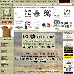LG Outdoors Sporting Goods online shopping
