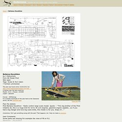 Outerzone : Bellanca Decathlon plan : download free vintage model aircraft plan