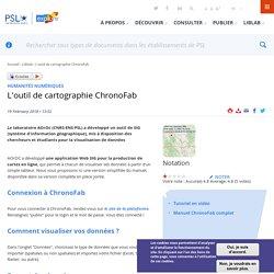 L'outil de cartographie ChronoFab